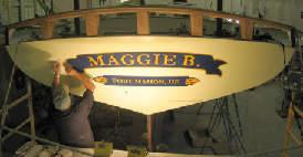 Schooner Maggie B